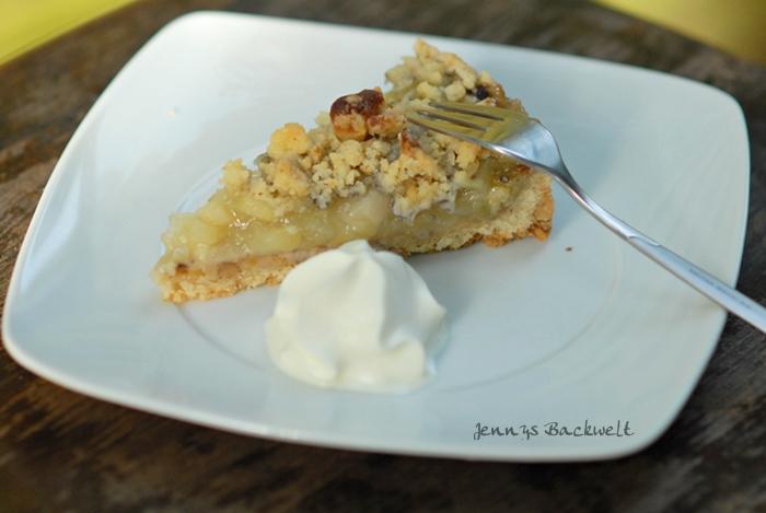 Apfel Walnuss Pie