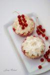 Johannisbeer Muffins mit Baiserhaube