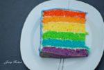 Regenbogen Kuchen oder auch Papageienkuchen