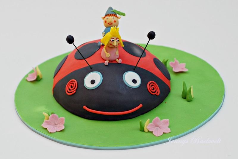 Ben und Holly Kuchen