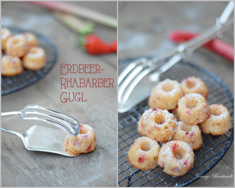Erdbeer-Rhabarber Gugl