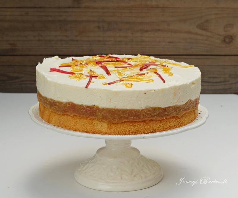 Limetten Frischkäse Torte