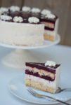 Rezept für sommerliche Brombeer-Kokos Torte