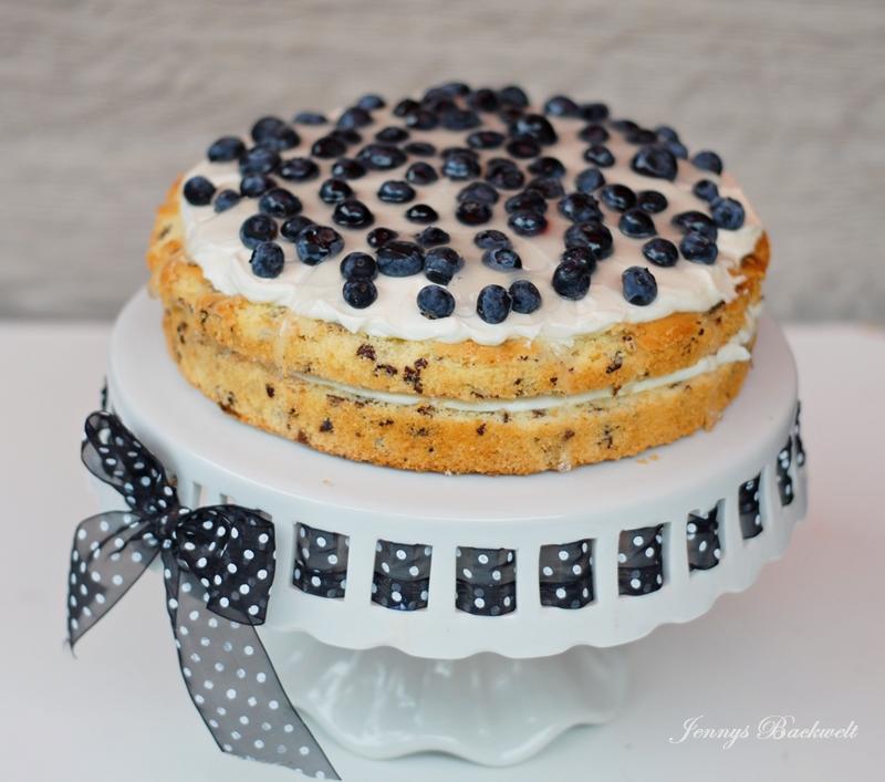 Heidelbeer Mascarpone Kuchen Jennys Backwelt