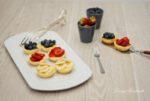 Fruchtige Mini-Käsekuchen
