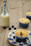 Blaubeer Polenta Muffins