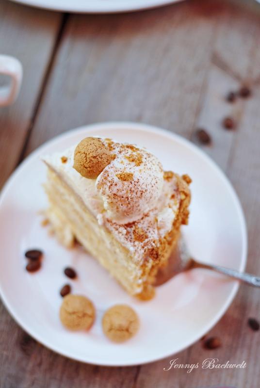 Kaffee Karamell Torte