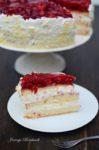 Vanille-Himbeer Torte