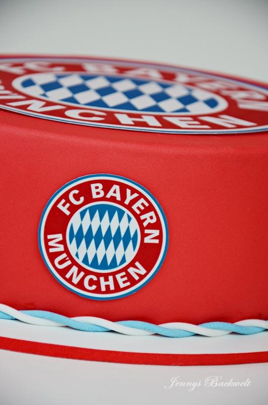 Bayern Munchen Torte Jennys Backwelt