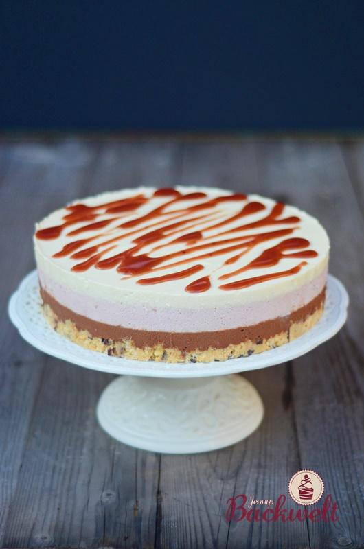 Mousse Torte Mit Schokolade Himbeeren Und Vanille Jennys Backwelt