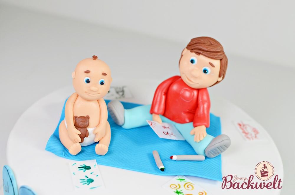 Baby Shower Torte