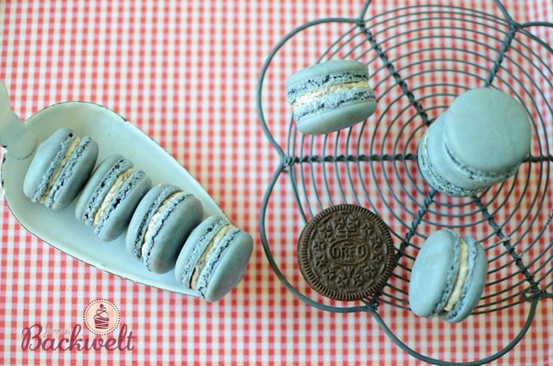 Macarons mit Oreo Frischkäse Buttercreme
