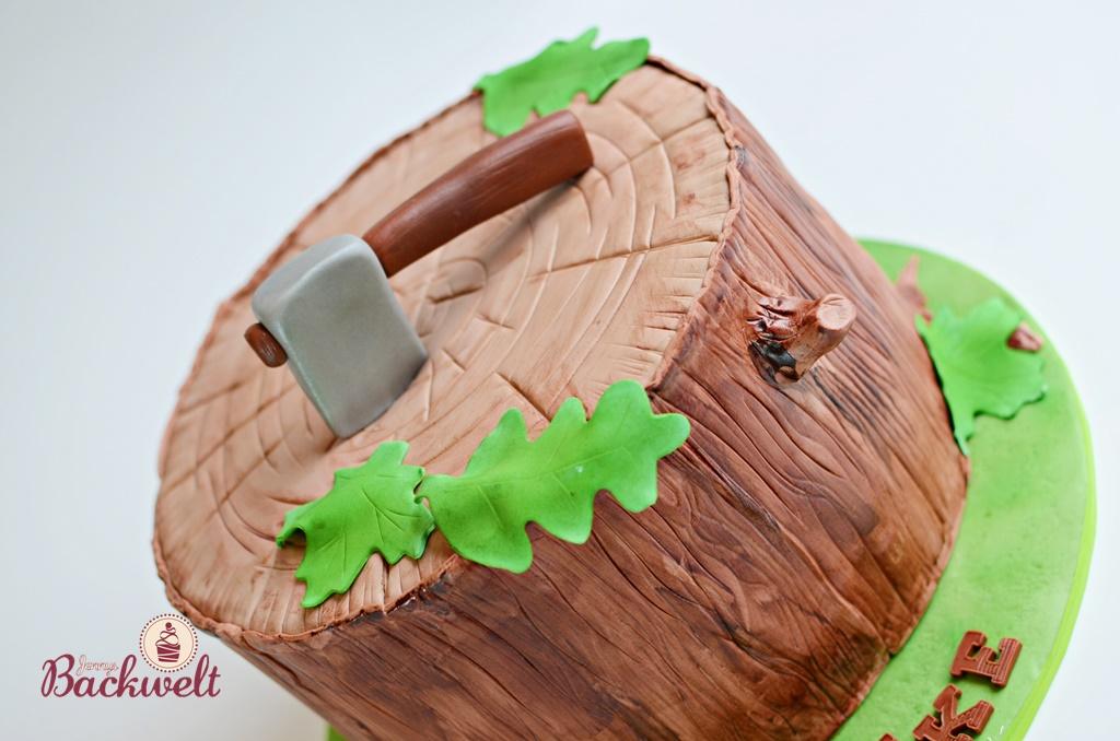 Baumstumpf Torte