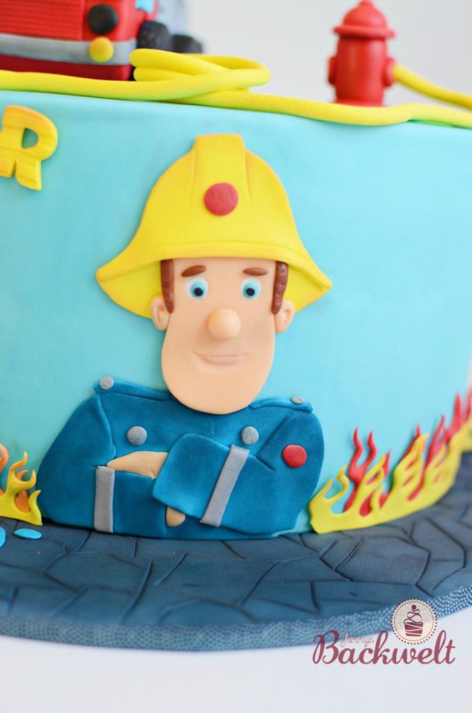 Feuerwehrmann Sam Torte