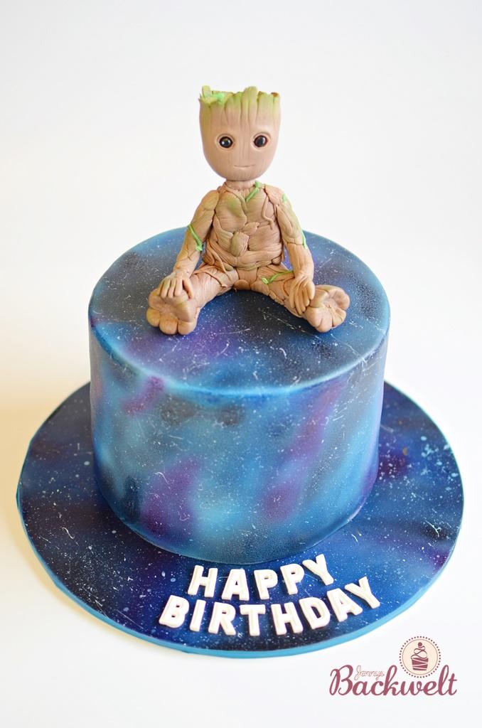 Baby Groot Torte