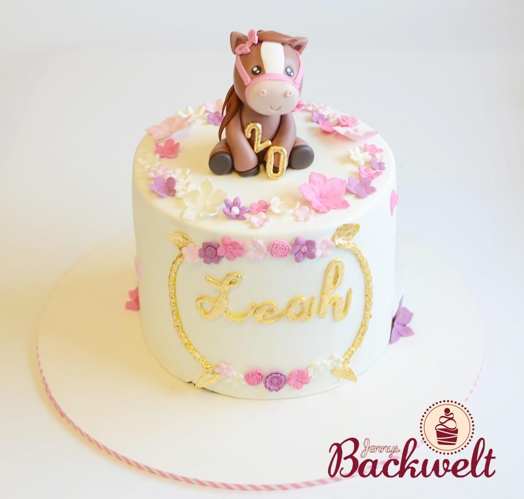 Geburtstagstörtchen Pferd